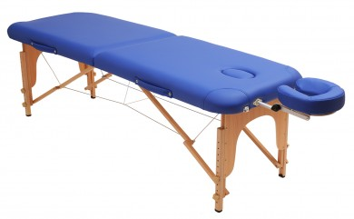 Massageliege basic blau