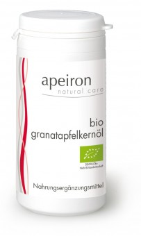 Bio Granatapfelkernöl (60 Kaps.), 42,9 g