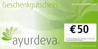 Geschenk-Gutschein 50 EUR