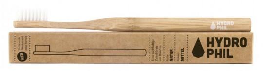 Bambus-Zahnbürste, natur, mittelweich (konventionell)