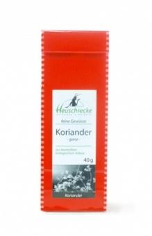 Bio Koriander (ganz), 40 g