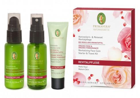 Kennenlern- & Reiseset Revitalpflege Rose Granatapfel
