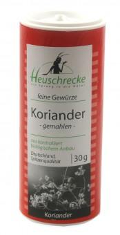 Bio Koriander (gemahlen), 30 g