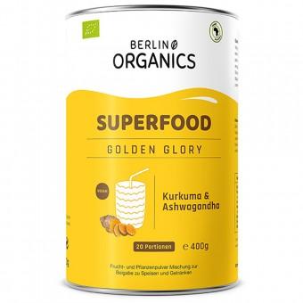 Bio Golden Glory Superfood Pulver, 400 g