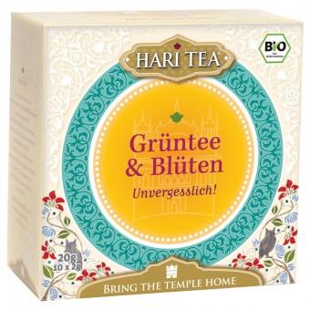 Bio Grüntee & Blüten Teemischung, 20 g