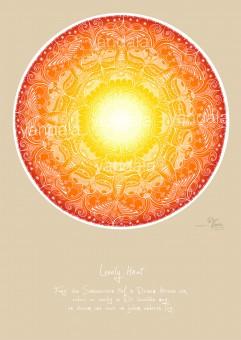 "Yandala-Poster ""Lovely heat"""
