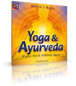 Yoga & Ayurveda von Merlin's Magic (CD)