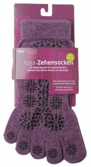 Yoga-Zehensocken - elderberry