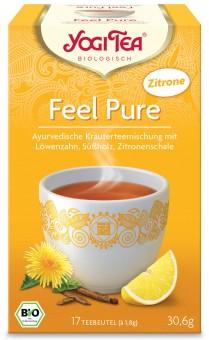 Bio Feel Pure mit Zitrone Teemischung, 30,6 g