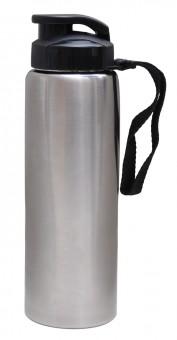"Trinkflasche ""Yoga"" Edelstahl, 0,7 l"