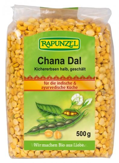 Bio Chana Dal Kichererbsen halb, geschält, 500 g