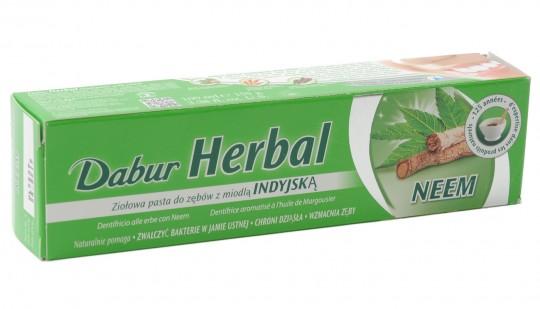 Ayurvedische Kräuterzahnpasta mit Neem, 100 ml