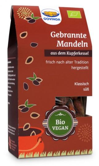 Bio gebrannte Mandeln, 100 g