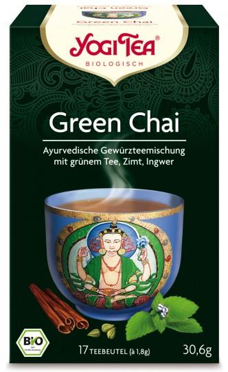 Bio Green Chai Teemischung, 30,6g