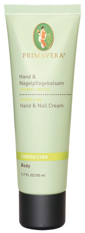 Hand- & Nagelpflegebalsam Ingwer & Limette, 50 ml