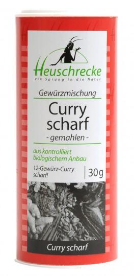 Bio Curry Gewürzmischung scharf (gemahlen), 30 g