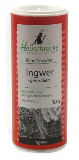 Bio Ingwer (gemahlen), 30 g