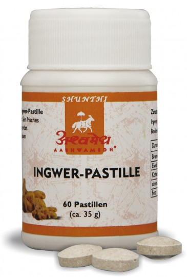 Ingwer-Pastillen (konv. Anbau), 35 g