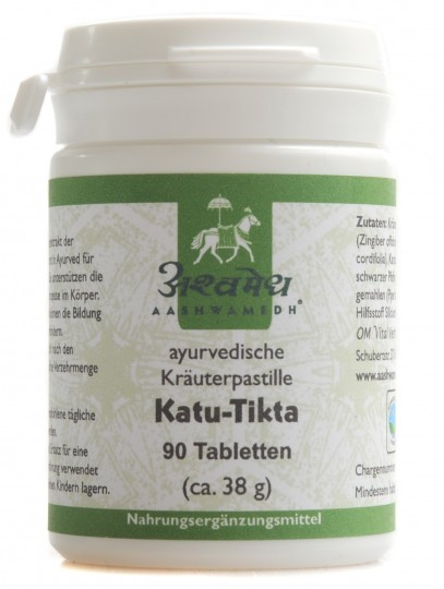 Katu Tikta, 90 Tabletten (ca. 38 g)