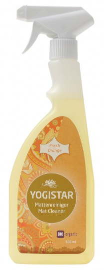 Bio Yogamatten-Reiniger - fresh orange - 500 ml