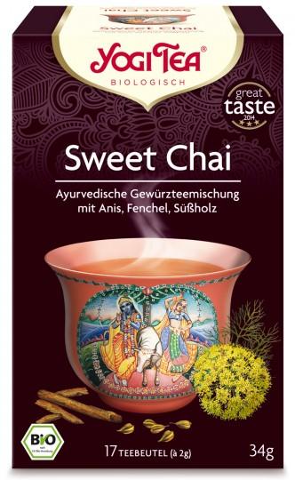 Bio Sweet Chai Teemischung, 34 g