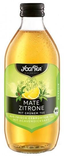 "Bio Teekaltgetränk ""ENERGIE"", Mate Zitrone mit grünem Tee, 330 ml (inkl. 0,25 € Pfand)"