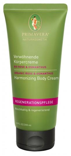Verwöhnende Körpercreme Rose Osmanthus, 200 ml