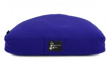 Meditationskissen - Halbmond royal blue