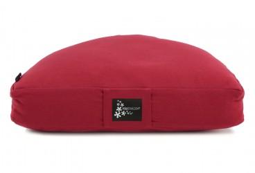 Meditationskissen - Halbmond red