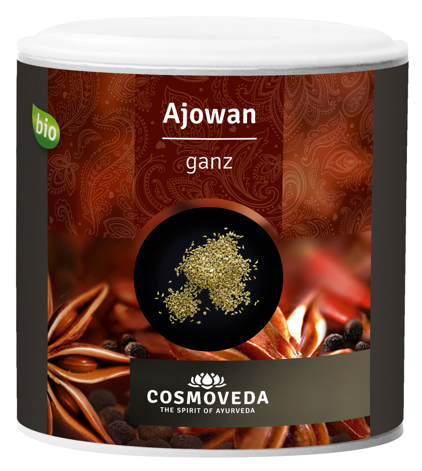 Bio Ajowan / Ajwain (Königskümmel), ganz, 90 g