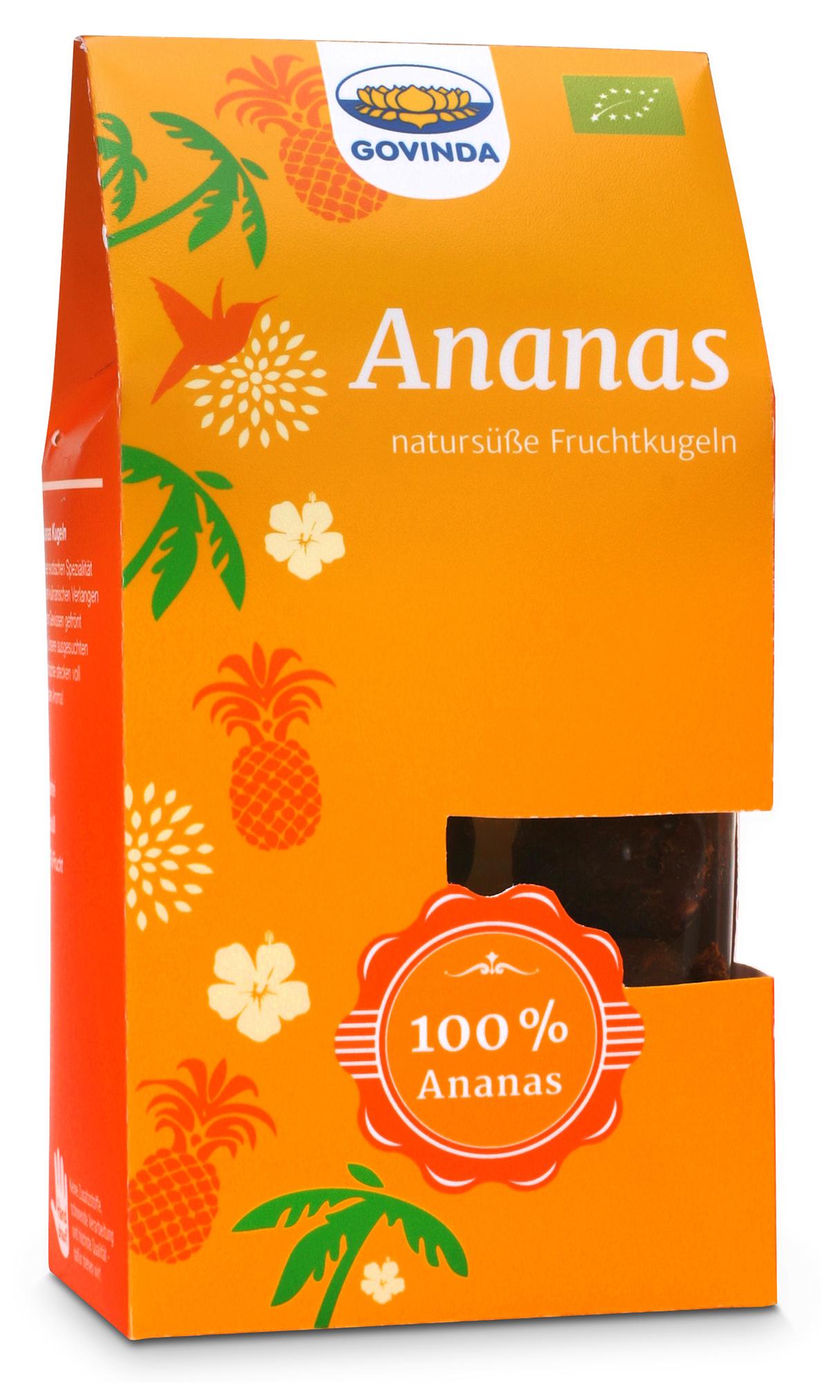 Bio Ananas Kugeln, 120 g im AYURDEVA kaufen   Ayurveda Ernährung ...