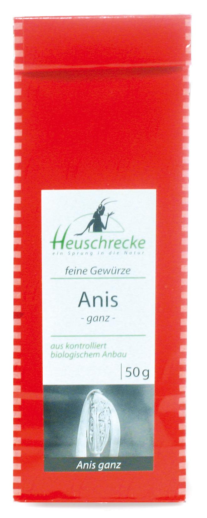 Bio Anis (ganz), 50 g