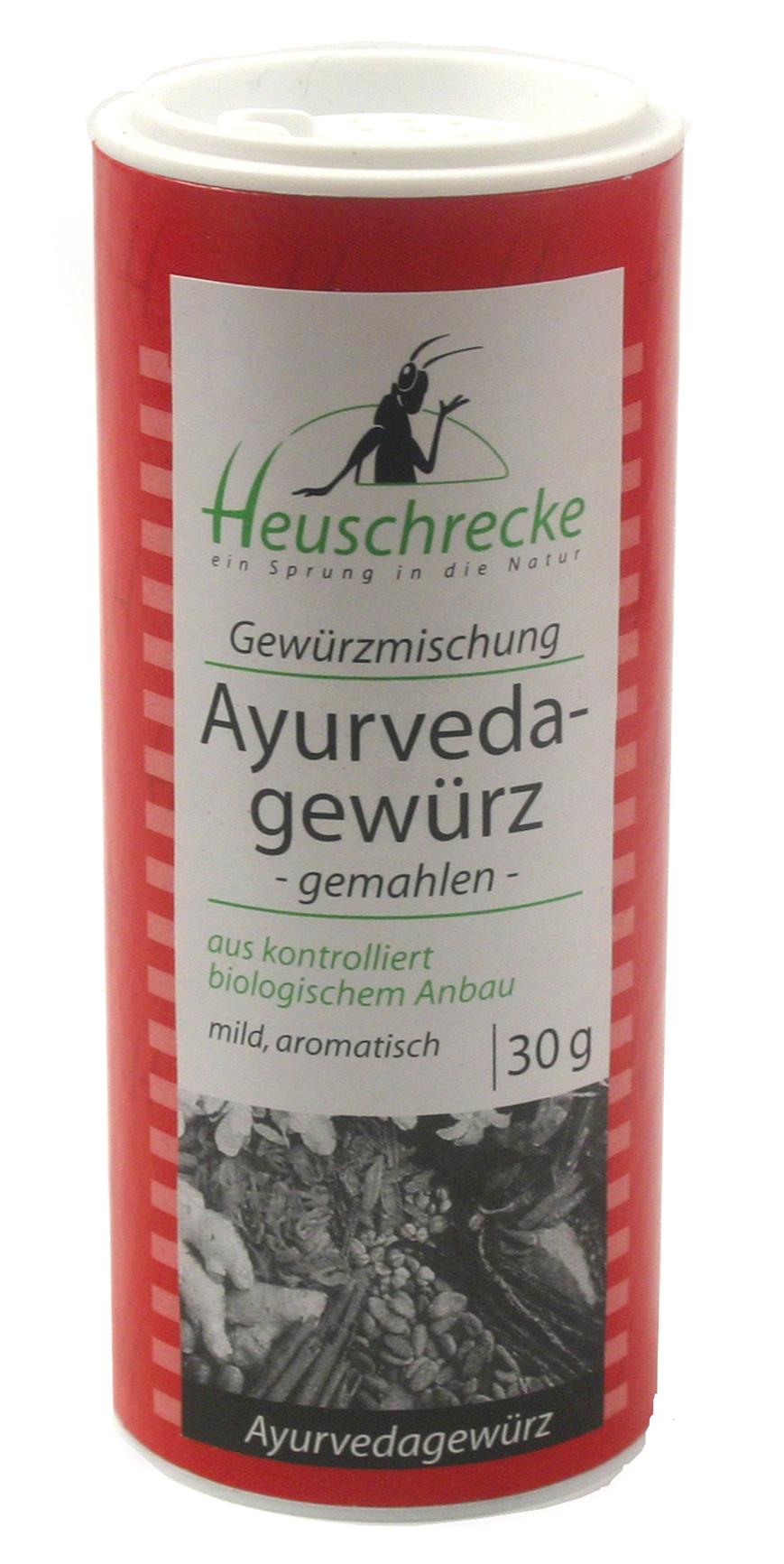 Bio Ayurveda-Gewürz (gemahlen), 30 g