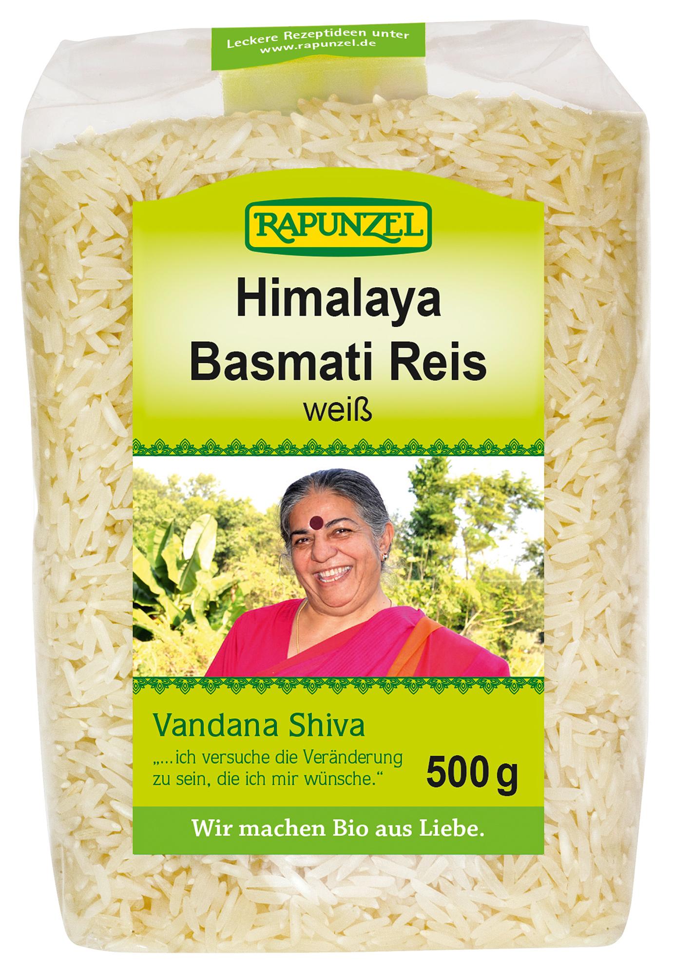 Bio Basmati Reis Vandana Shiva, weiß, 500 g