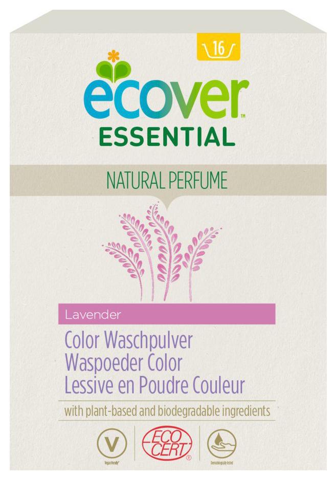 Essential Color Waschpulver Lavendel, 1,2 kg