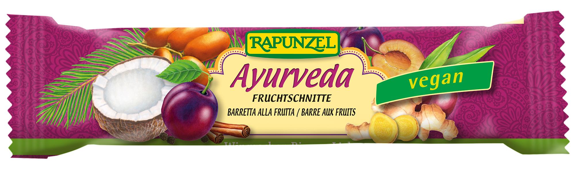 Bio Fruchtschnitte Ayurveda, 40 g