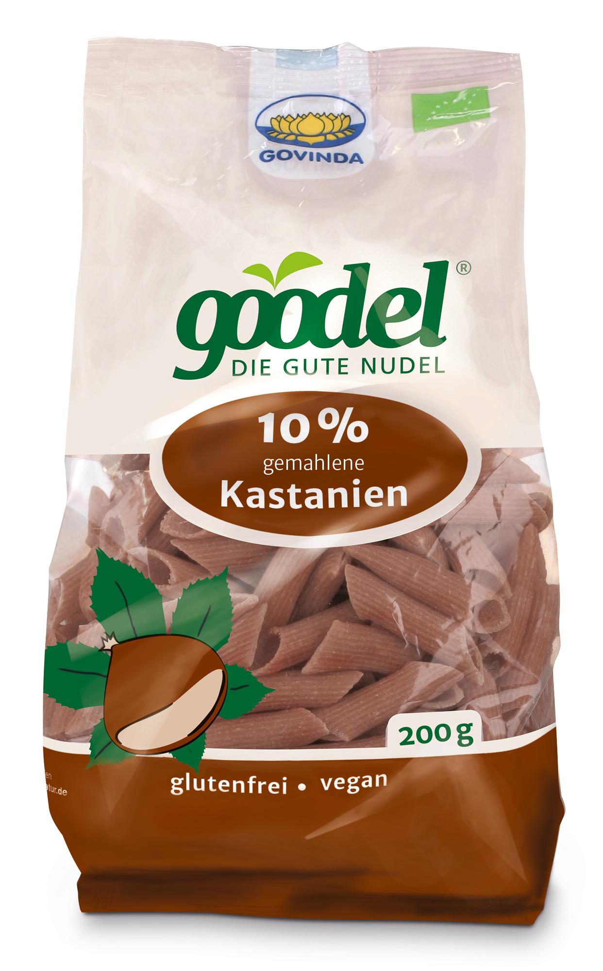 """Bio Goodel – Die gute Nudel """"Kastanie"""", 200 g"""