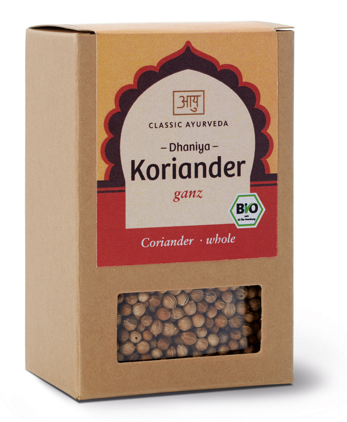 Bio Koriander (ganz), 50 g