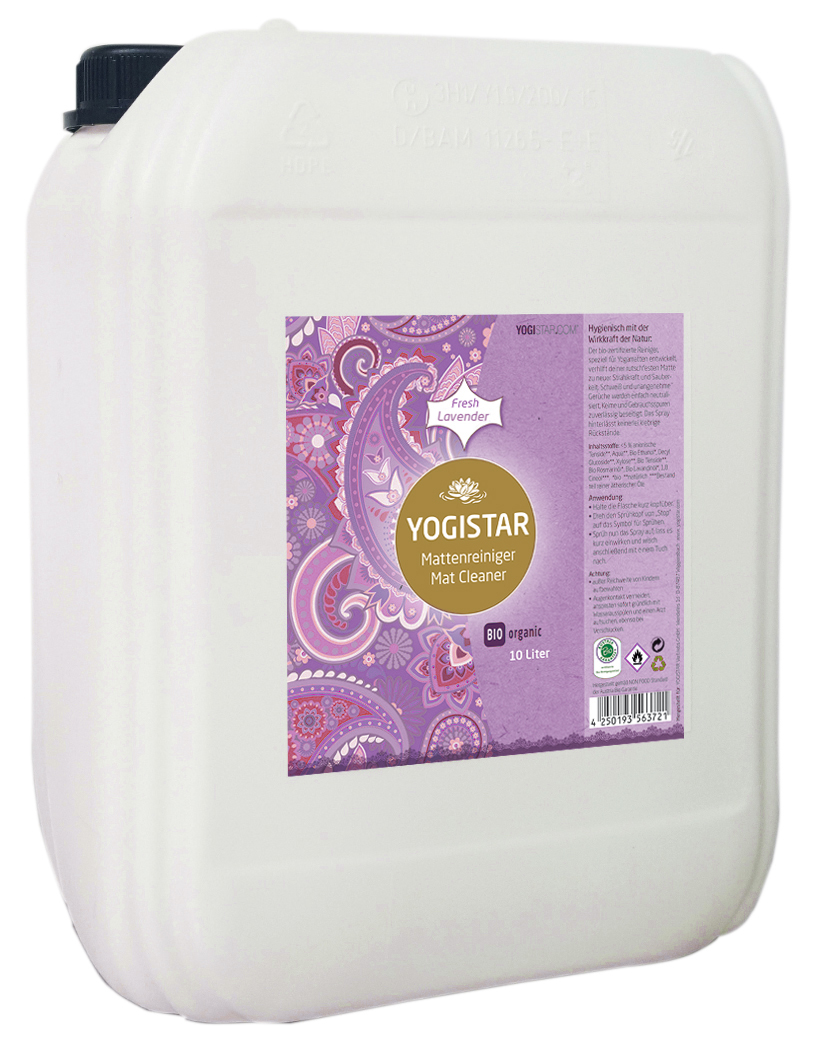Bio Yogamatten-Reiniger - fresh lavender - 10 l