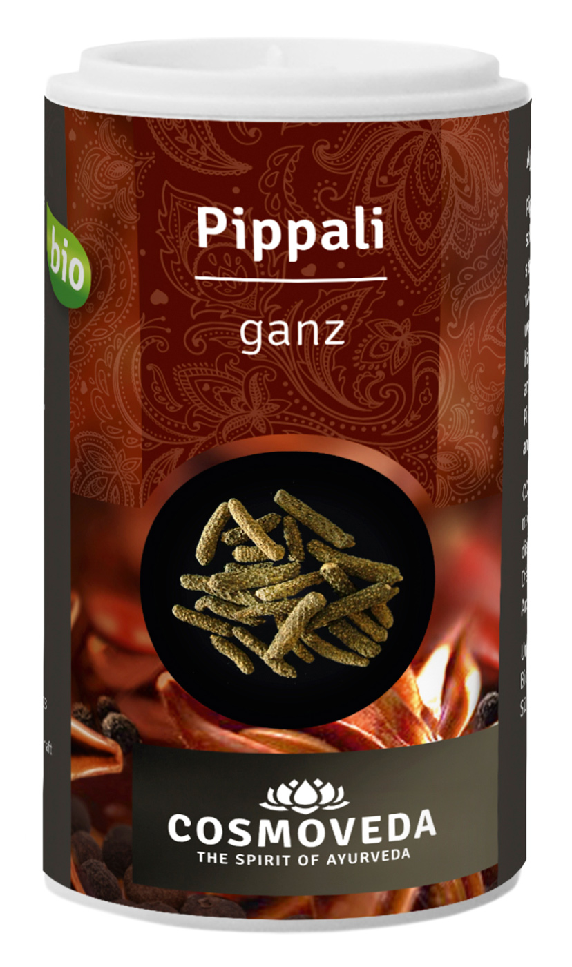 Bio Pippali (langer Pfeffer) - ganz, 33 g