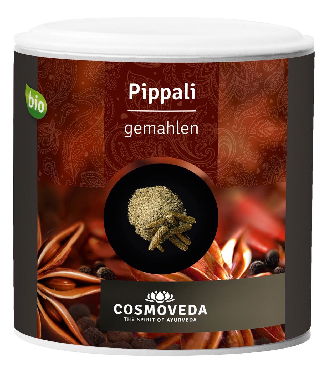 Bio Pippali (langer Pfeffer), gemahlen, 100 g