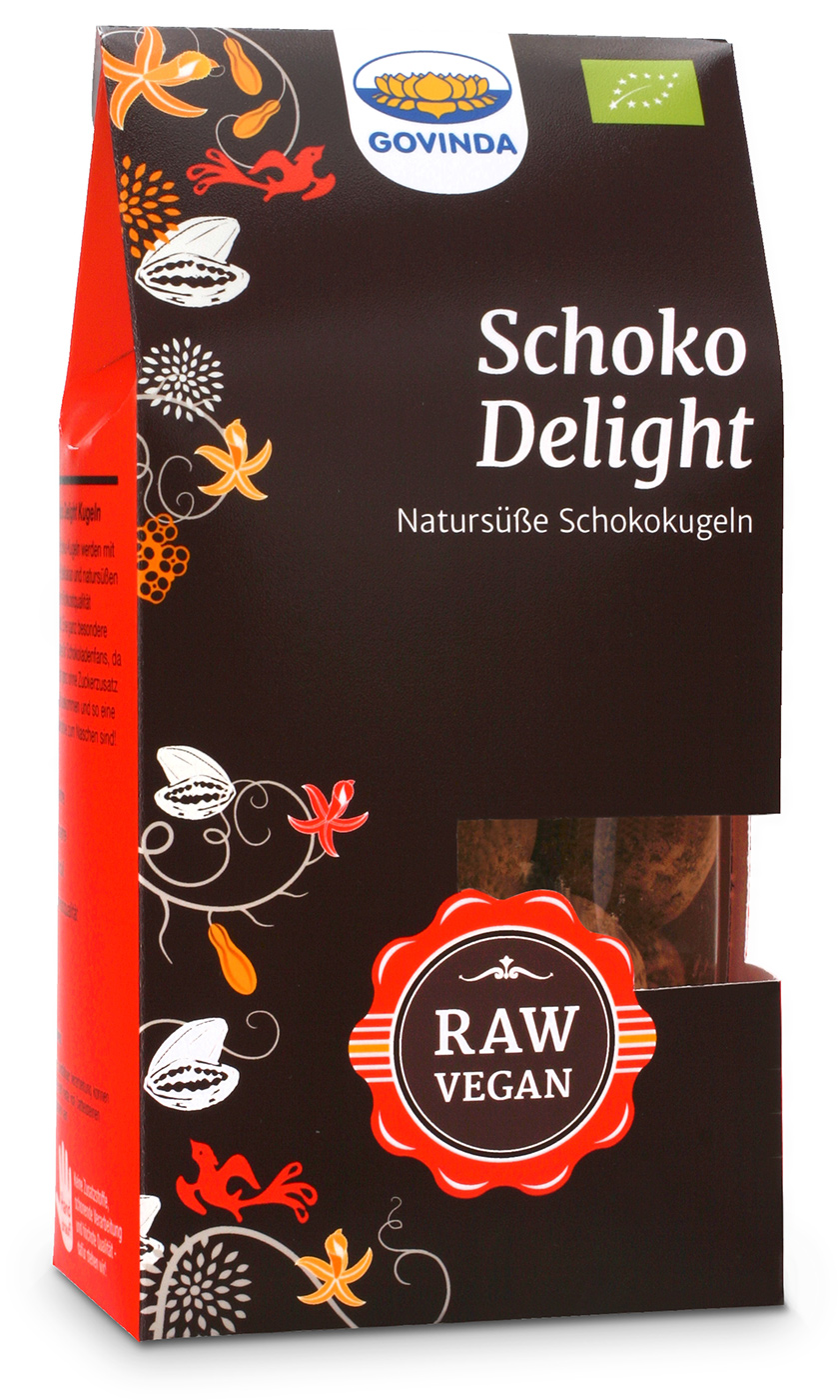 Bio Schoko-Delight-Kugeln, 120 g