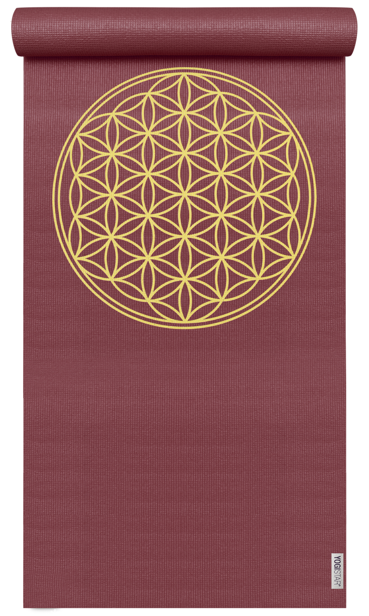 Yogamatte yogimat® basic - flower of life