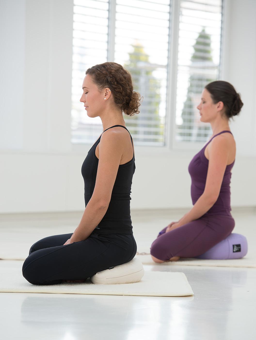 Meditationskissen - rund