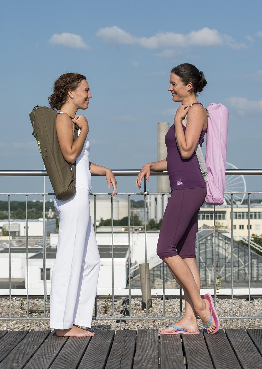 Yogatasche yogibag® basic - cotton - 65 cm