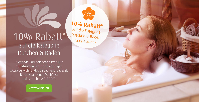 10% Duschen & Baden
